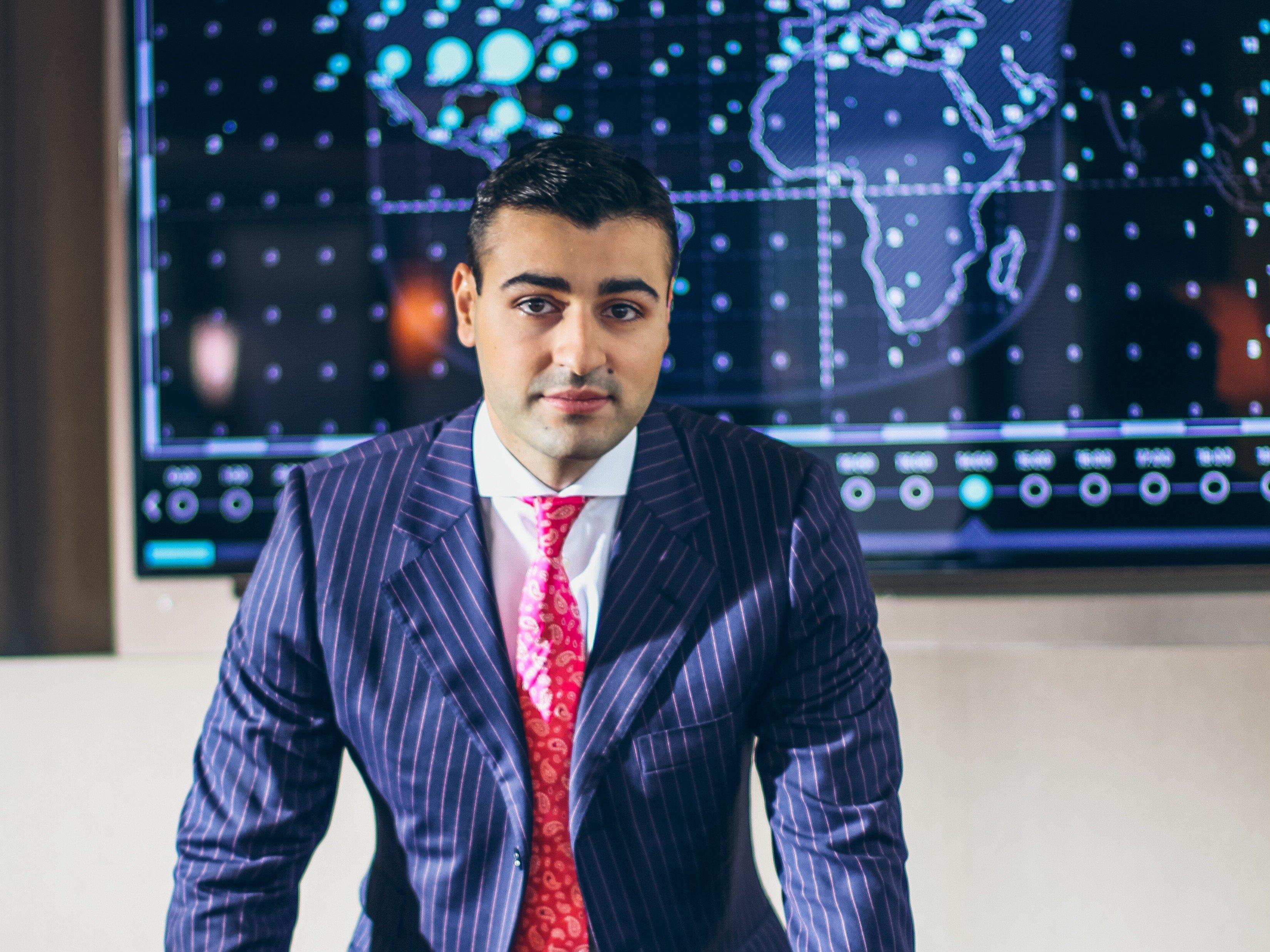 Sergey Petrossov, CEO de JetSmarter