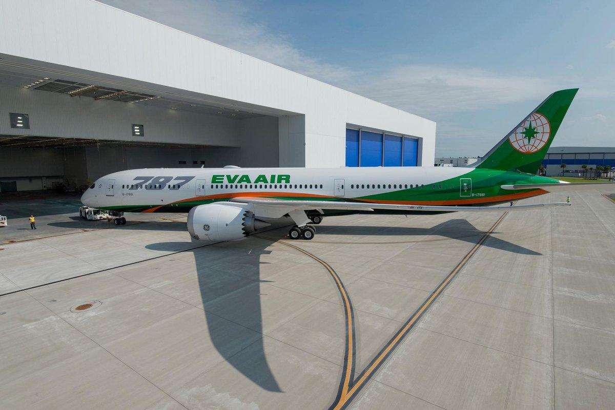 Resultado de imagen para EVA Air Boeing 787-9