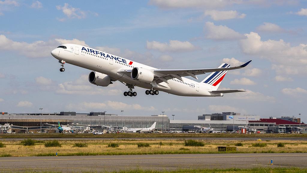 Grupo Air France-KLM ordena 10 Airbus A350 adicionales