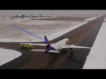 Desarrolla sistema anticolisión en tierra para el 777 EcoDemonstrator